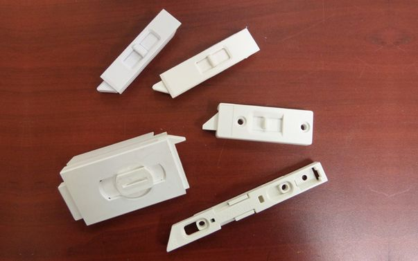 Miscellaneous white hardware